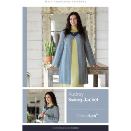 Audrey Swing Jacket in West Yorkshire Spinners ColourLab
