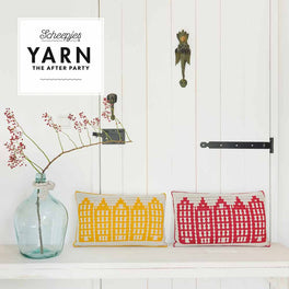 Yarn The After Party 80 Canal Houses Cushion by Esme Crick