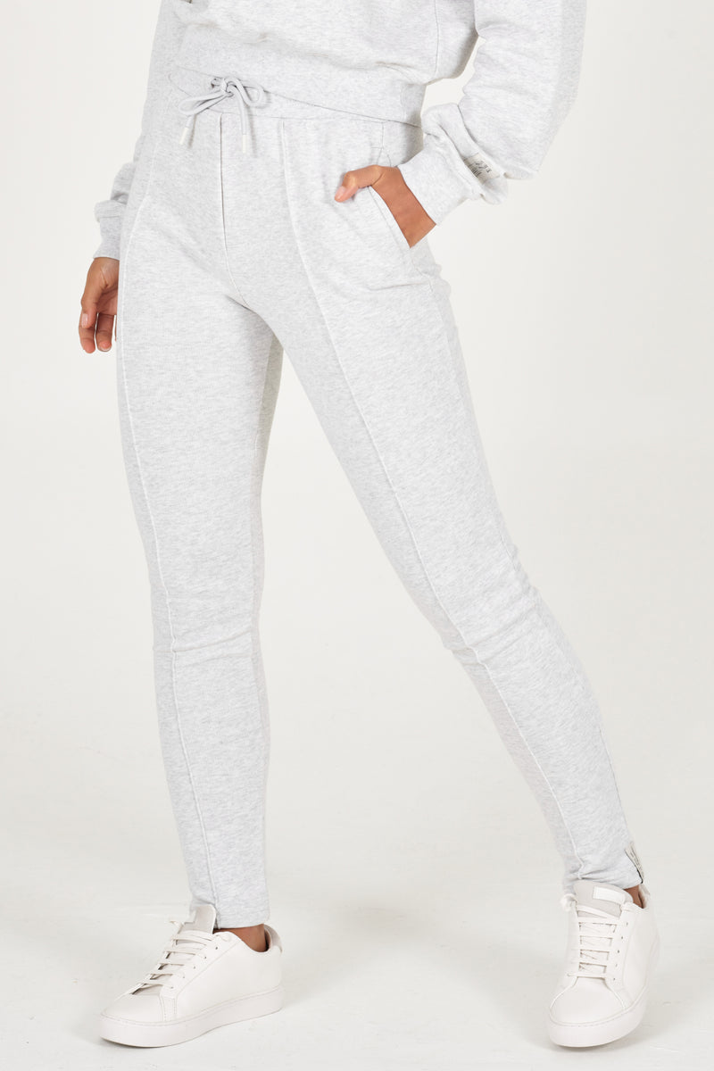 Grey Melange Organic Sweatpants