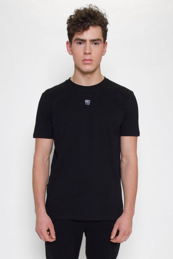 Black 'Reverse Definition' Classic Tee