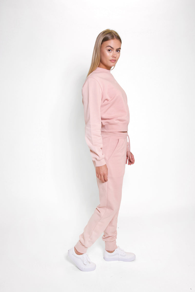 Pastel Rose Classic Sweatpants