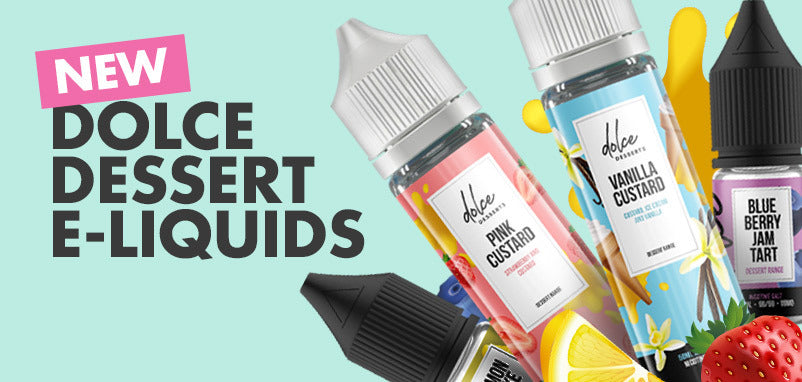 New dessert e-liquid range by Dolce Desserts catering to sweet-toothed vapers