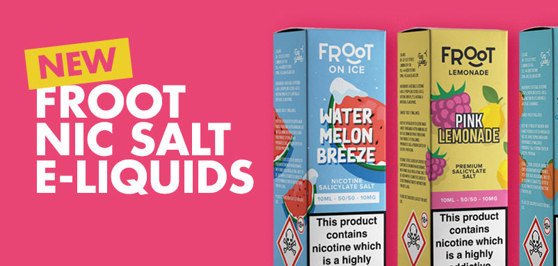 It's time for fruits with the new Froot Salts and Froot Lemonade ranges!