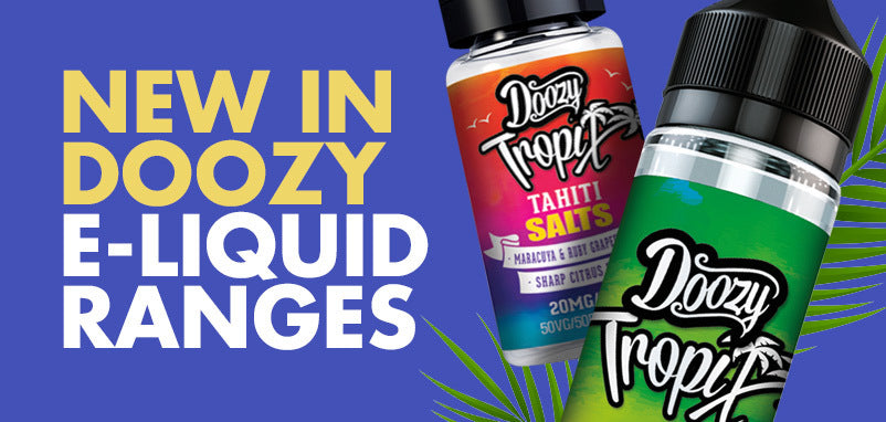 E-Liquid Ranges from Doozy Vape - Pure Flavour, No Additives