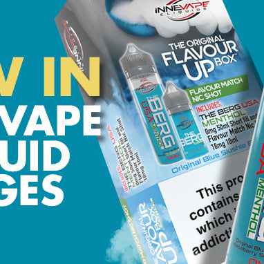 New from Innevape - Flavour Ups and Nic Salts Ranges!