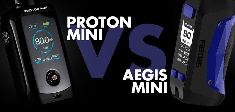 Innokin Proton Mini Vs Geekvape Aegis Mini - Which Ones Better?