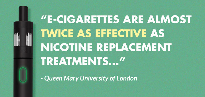 Queen Mary University of London gives green light for E-Cigarettes