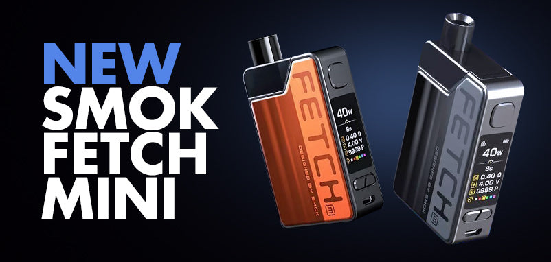 The Fetch Mini Vape Pod Kit is here!