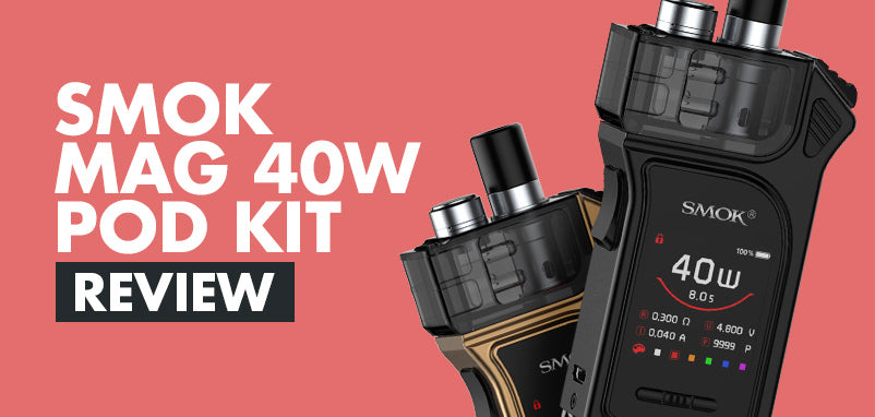 Smok goes compact with the Smok Mag 40W Pod System Kit!