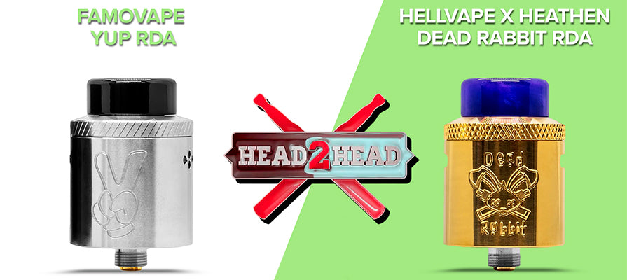 Head to Head with the Dead Rabbit and Yup RDAs