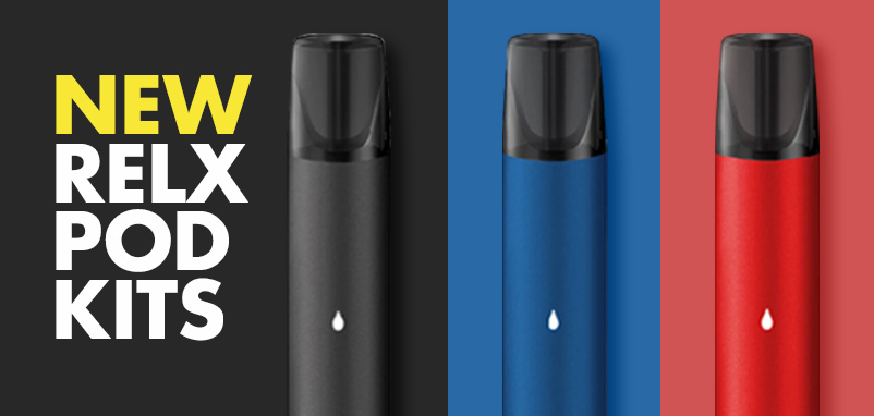 Relx Pod Kit - New vape kit from Relx - Pod Style Kit