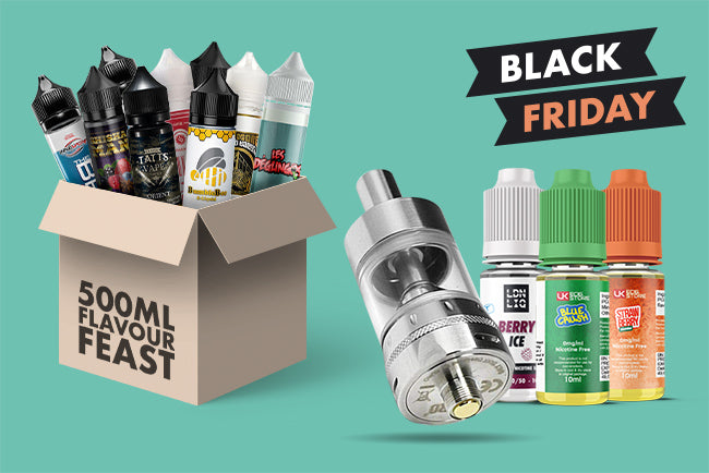 Black Friday Deals Vaping Deals at UK ECIG STORE