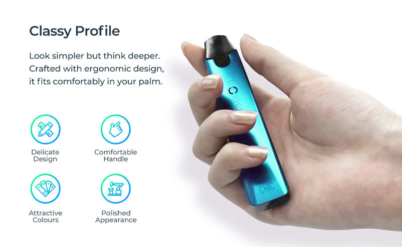 Usonicig Chic Pod Vape Kit | Features and Protections