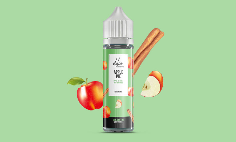 Dolce Dessert Apple Pie 50 ml Shortfill E-liquid
