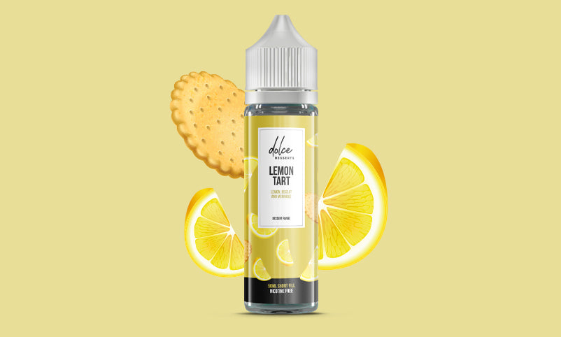 Dolce Dessert Lemon Tart 50 ml Shortfill E-Liquid