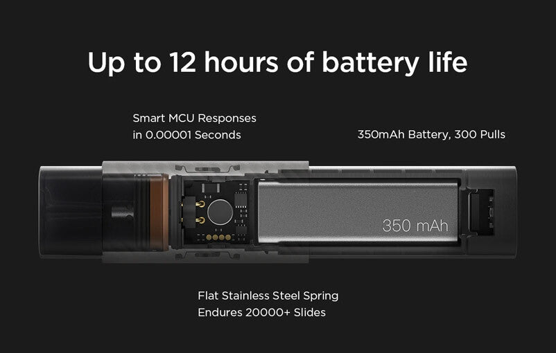 Myst P1 12 Hour Battery Life