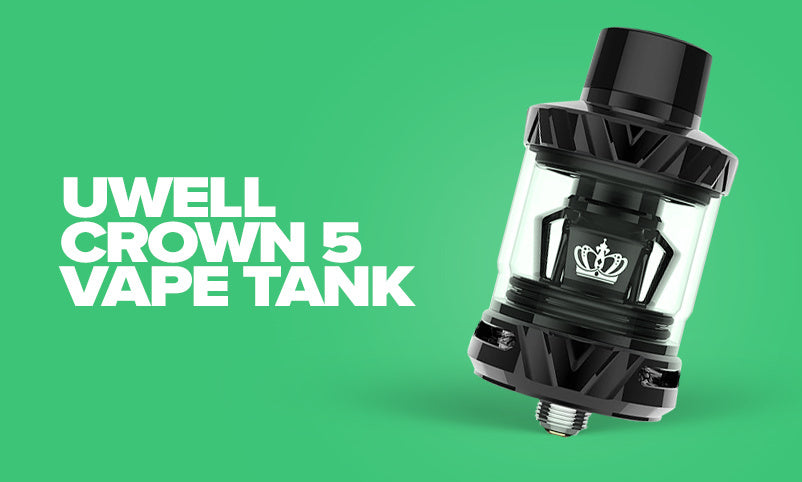 Roundup of February's Best New Products - Uwell Crown 5 Tank