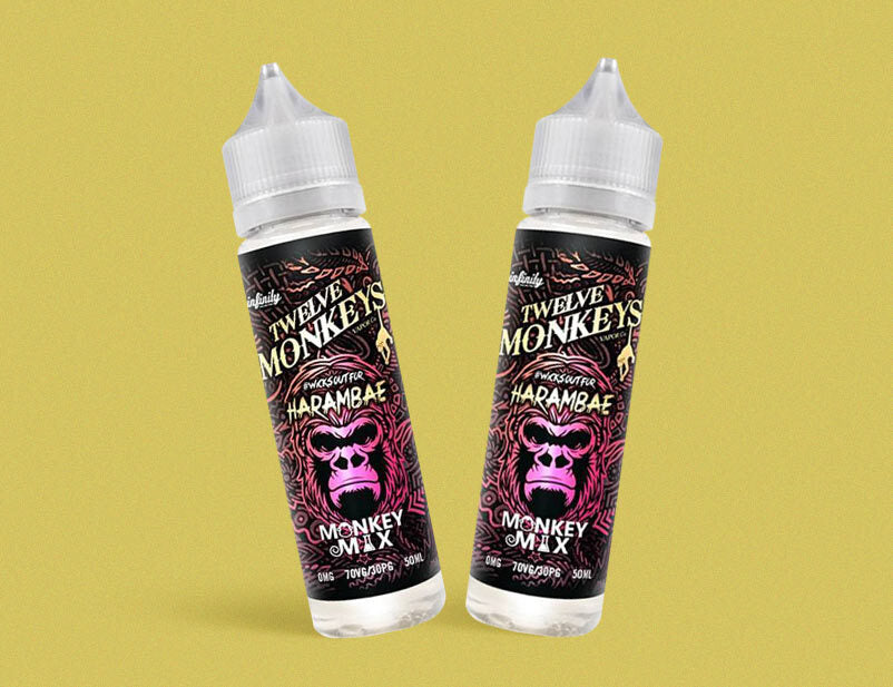 Twelve Monkeys Co - Harambae 50ml Short Fill E-Liquid
