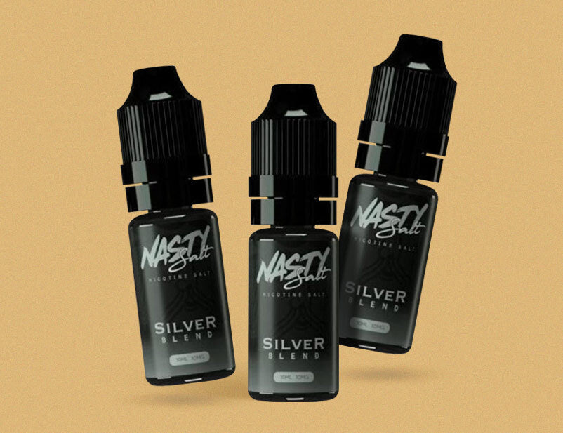 Nasty Salt Tobacco Series - Silver Blend 10ml Nicotine Salt E-Liquid