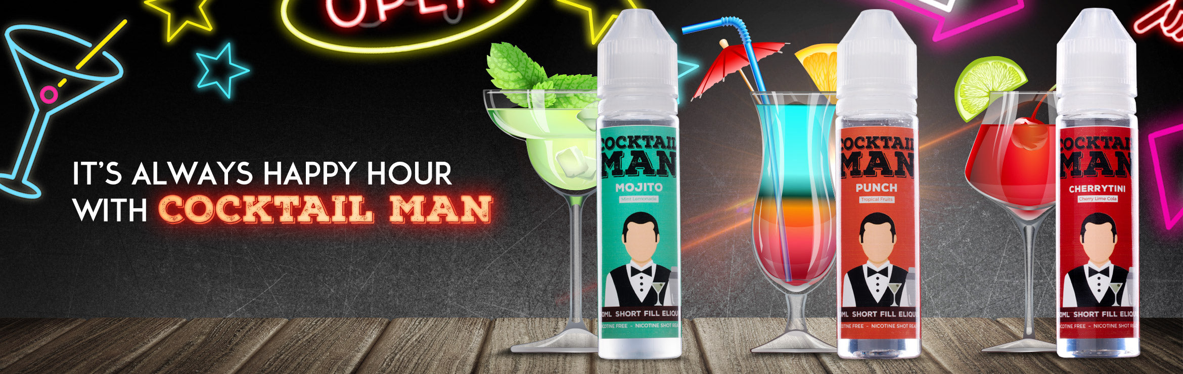 Cocktail Man - Happy Hour St Patrick's Day Blog Banner