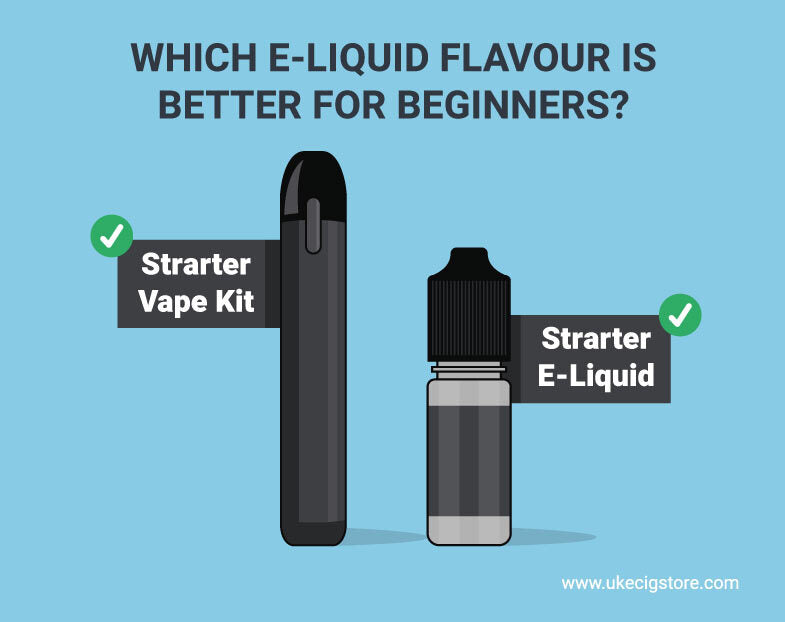 Which e liquid flavour is better for beginners