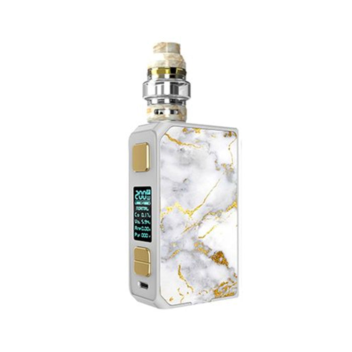 CoilART - Lux 200W 2ml Vape Kit - White