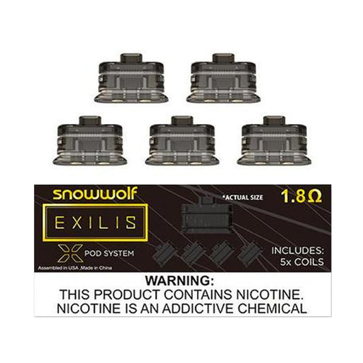 SnowWolf Exilis XPOD Replacement Coils x 5