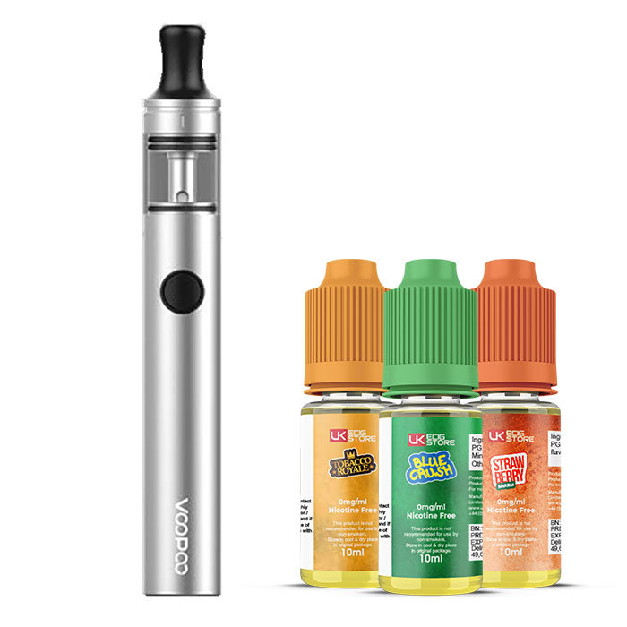 VooPoo - Finic 16 AIO E-Cigarette Kit with 3 e-liquids