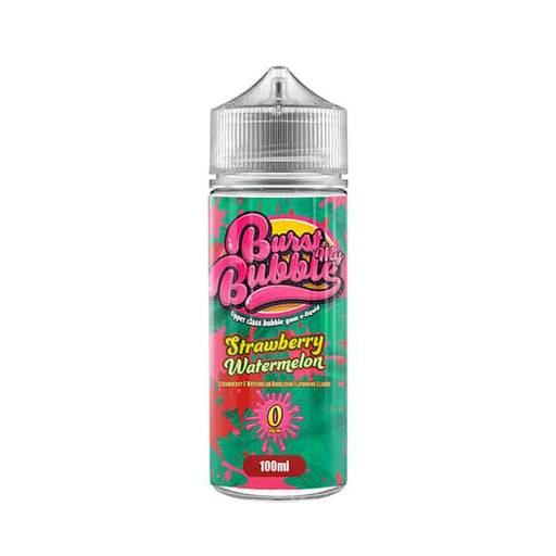 Burst My Bubble E-Liquids - Strawberry Watermelon 120ML Short Fill E-liquid