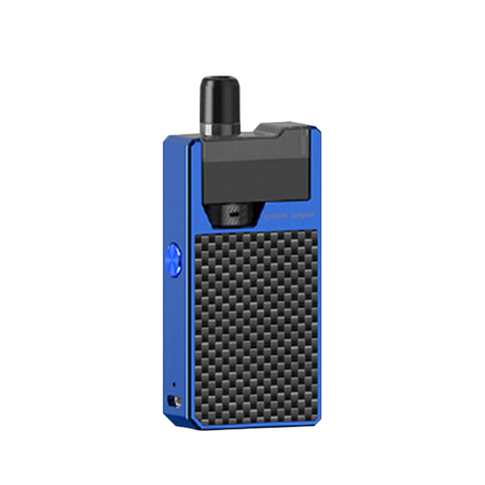 Geekvape - Frenzy Pod Vape Kit - Blue/Carbon Fibre