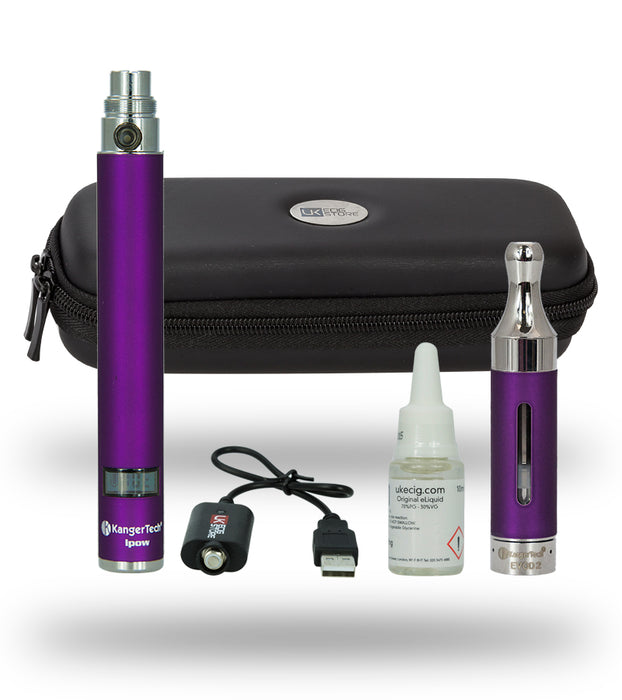 The Kanger IPOW Kit - Purple