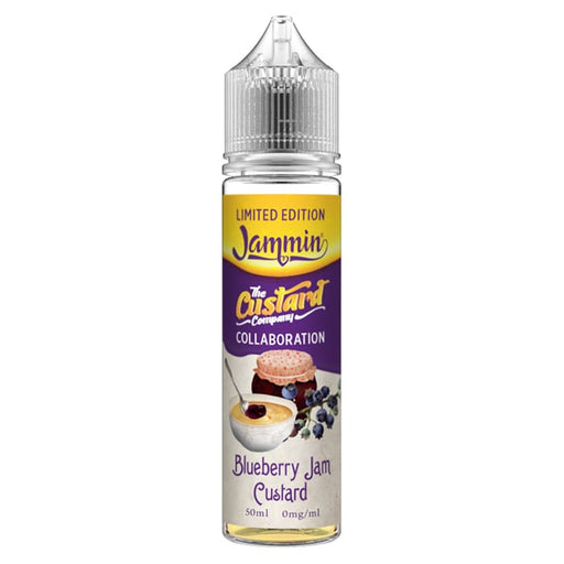 The Custard Company - Limited Edition - Blueberry Jam Custard 50ml Short Fill E-Liquid