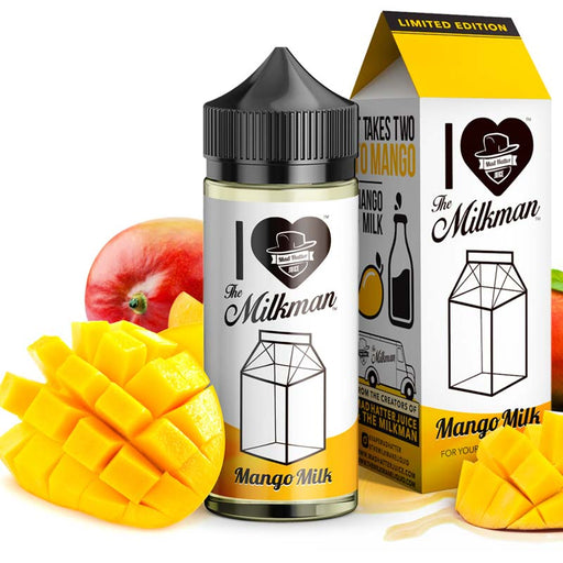 The Milkman and Mad Hatter - Mango Milk 100ml Short Fill E-Liquid