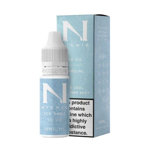 Nic Nic - Ice Shot 18mg 10ml Nicotine Shot
