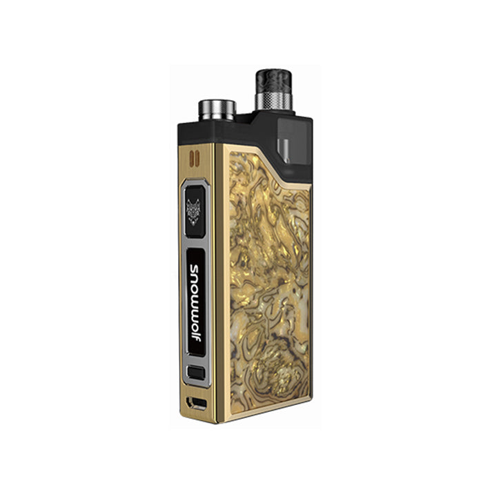 Snow Wolf Wocket Pod System Vape Mod - Marble gold