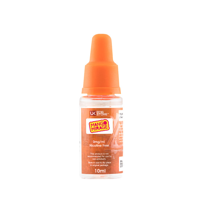 UK Ecig Store TPD Mango Mirage E-Liquid - bottle