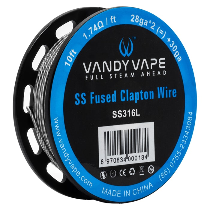 Vandy Vape - Fused Clapton Wire SS316L