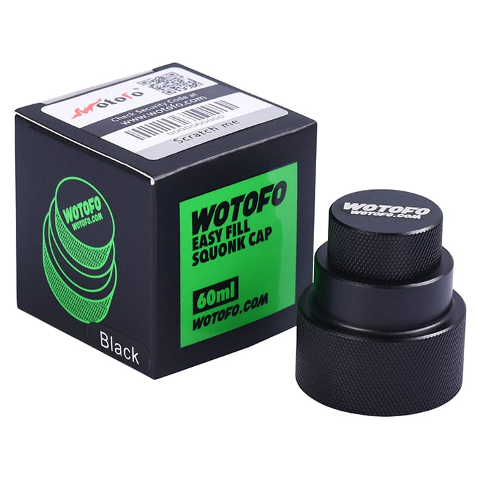 Wotofo - Easy Fill Squonk Cap For 60ml Bottles