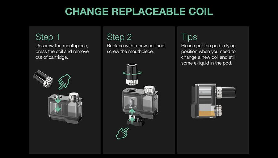 How to replace your Lost Vape Orion Plus DNA Pod coils