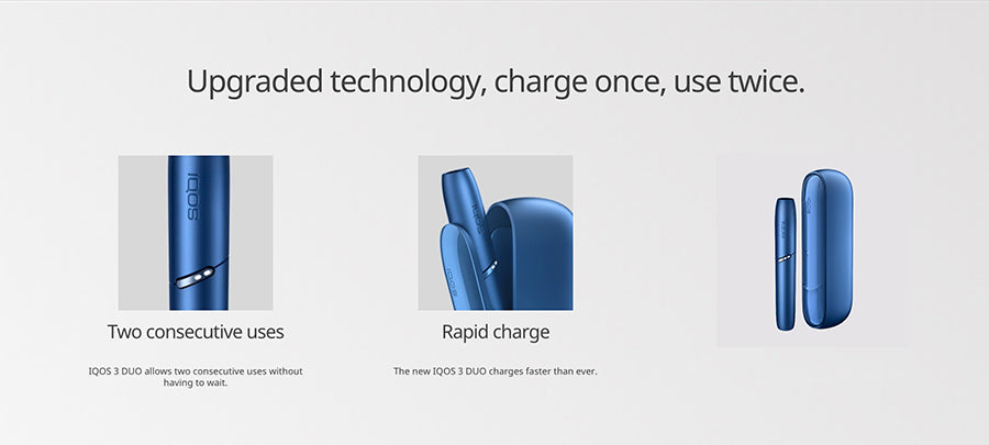 IQOS 3 Duo Kit - Upgraded Technology
