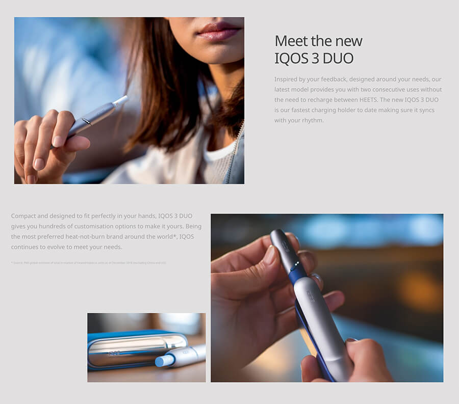 IQOS 3 DUO Features