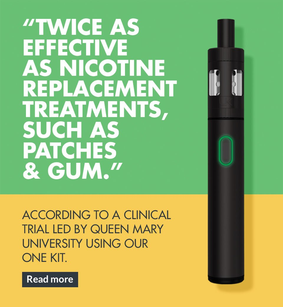 Twice as effective as nicotine replacement treatments