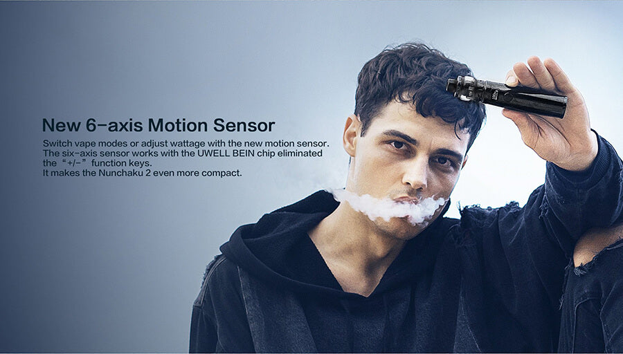 Uwell Nunchaku 2 Vape Kit 6 axis Motion Sensor