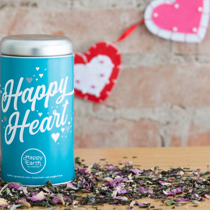 Happy Heart Tea for Valentine's Day
