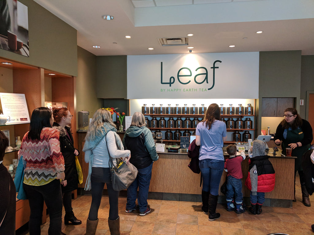 Grand Opening of Leaf at Eastview Mall