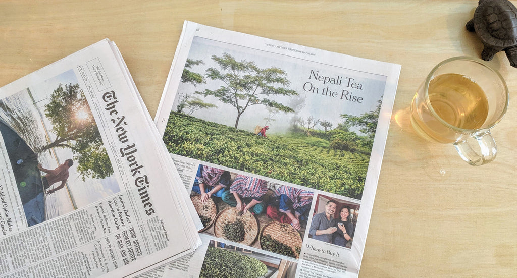 Nepal Tea Arrives in NYT