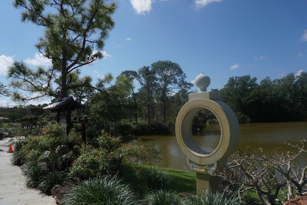 Visit to Roji-en, Japanese garden in Delray Beach, Florida