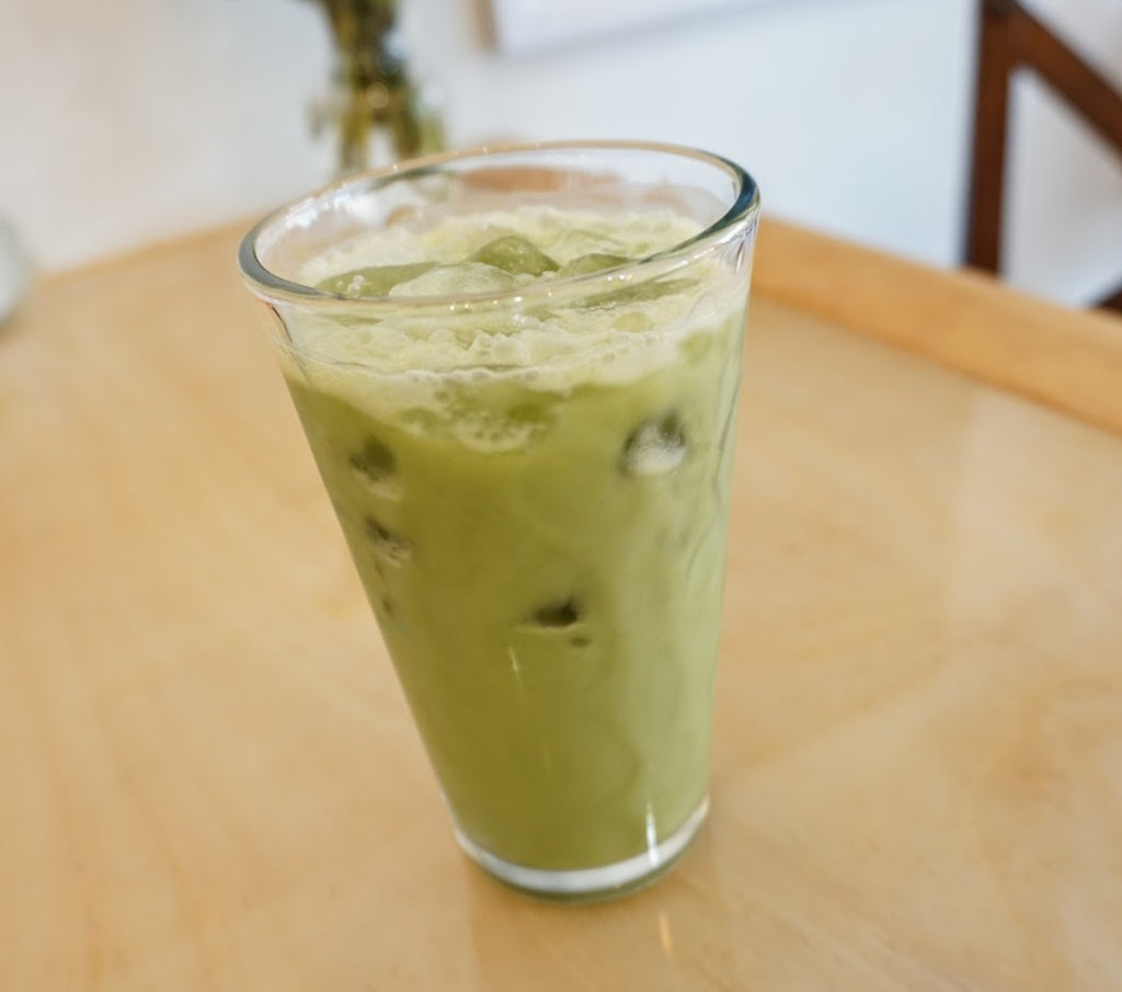 Recipe - Iced Coconut Matcha Latte