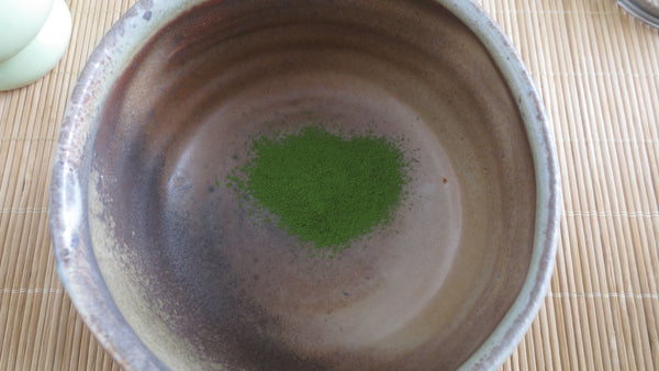 Photo of a finely sifted matcha.