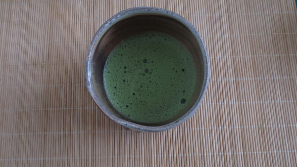 Bowl of matcha ready for your pleasure!